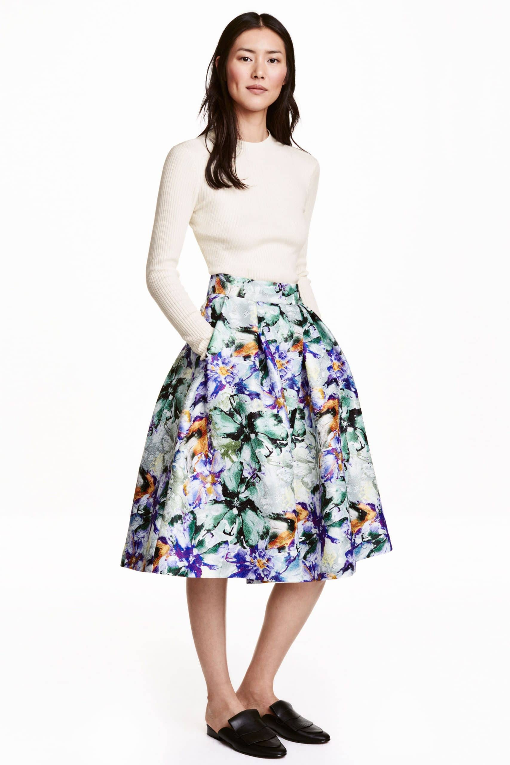 Bell Shaped Skirt