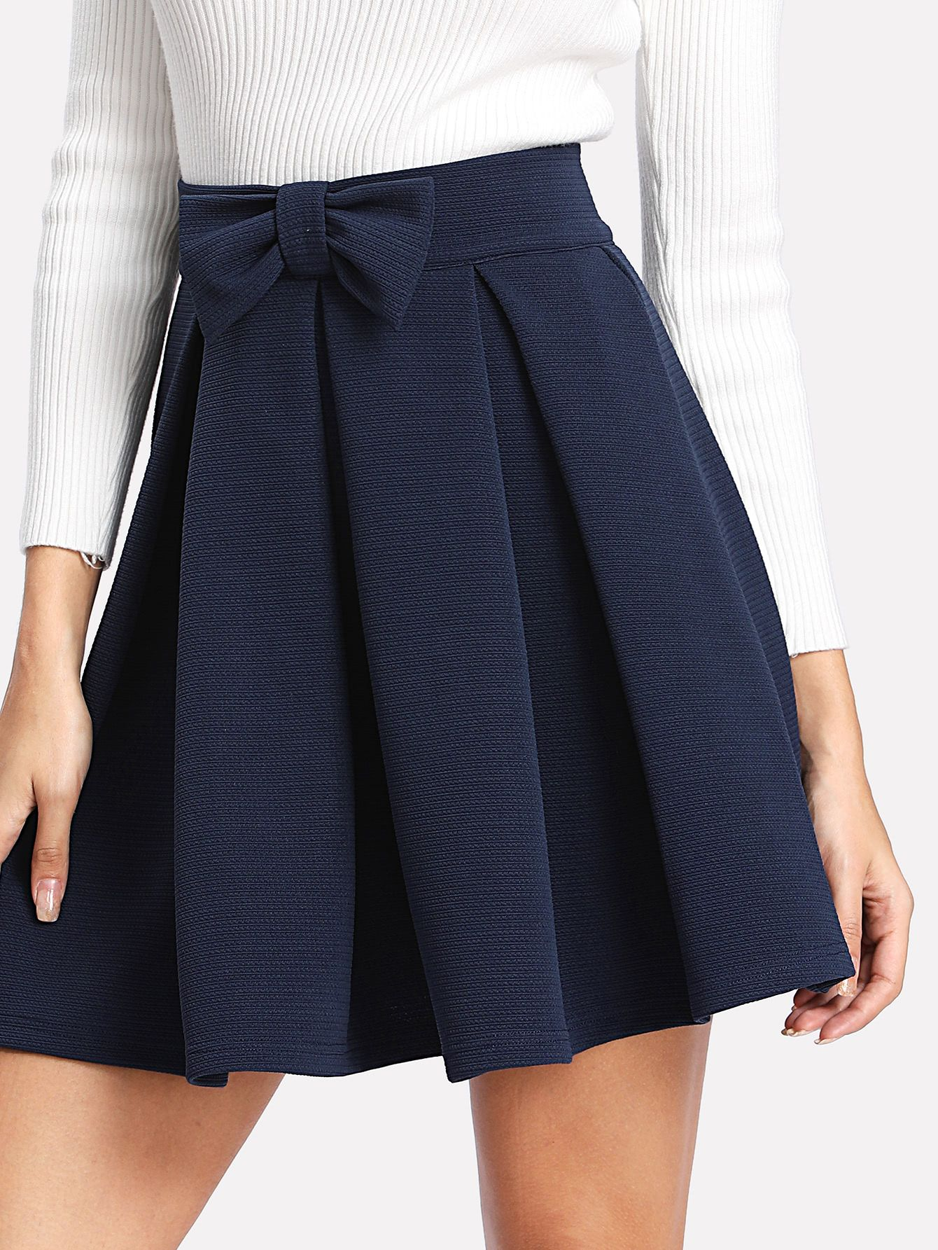 Box Pleat Skirt
