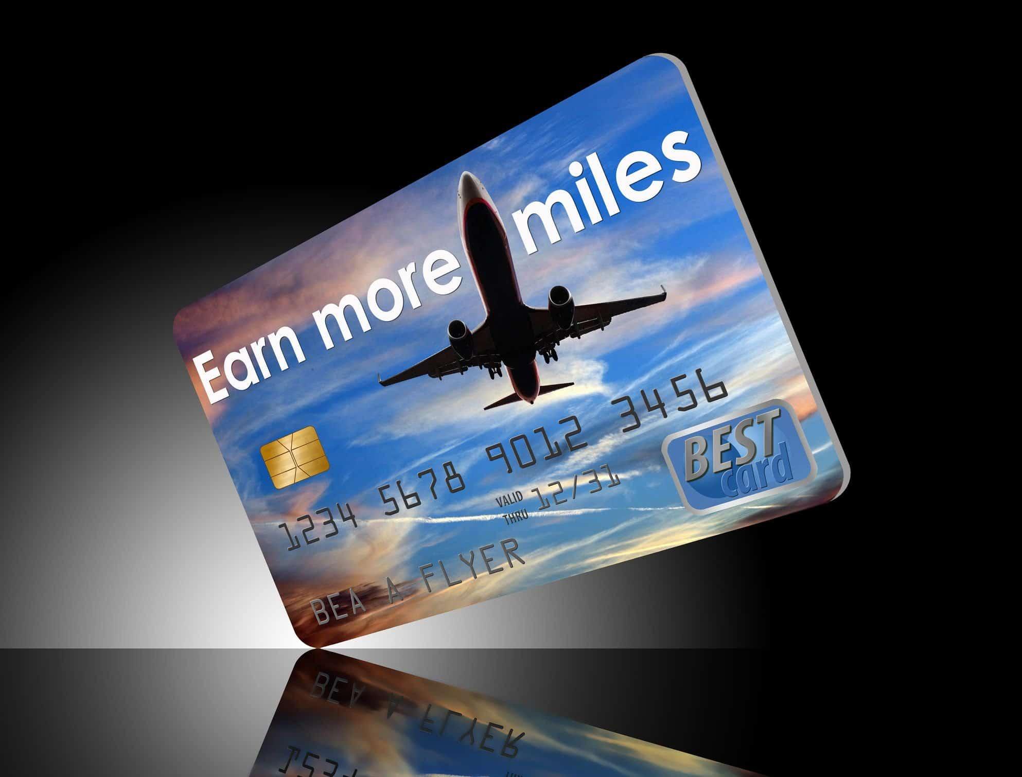 Generic Airline Miles Card