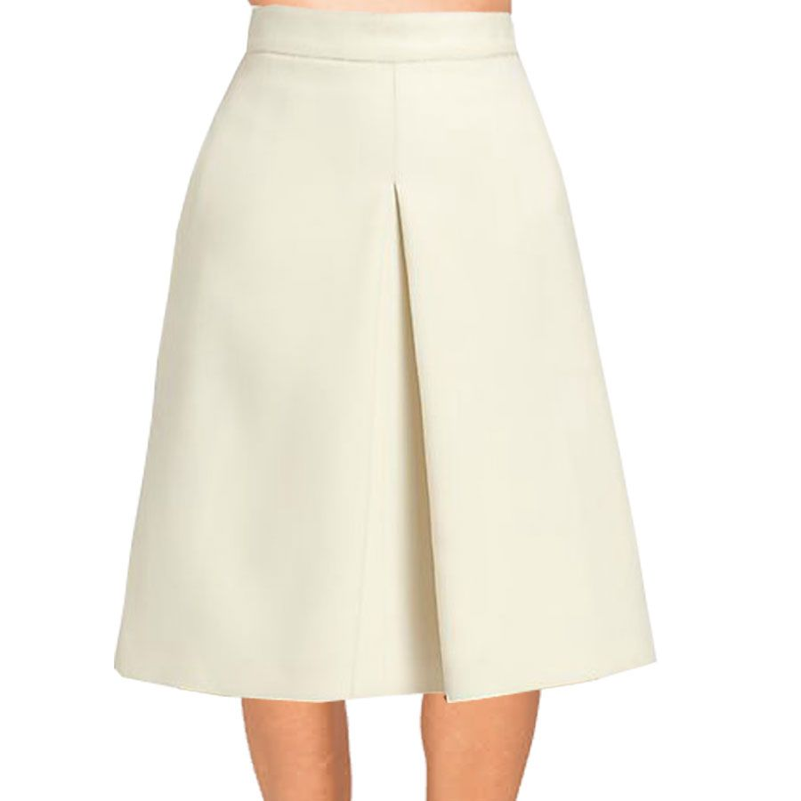 Inverted Pleat Skirt