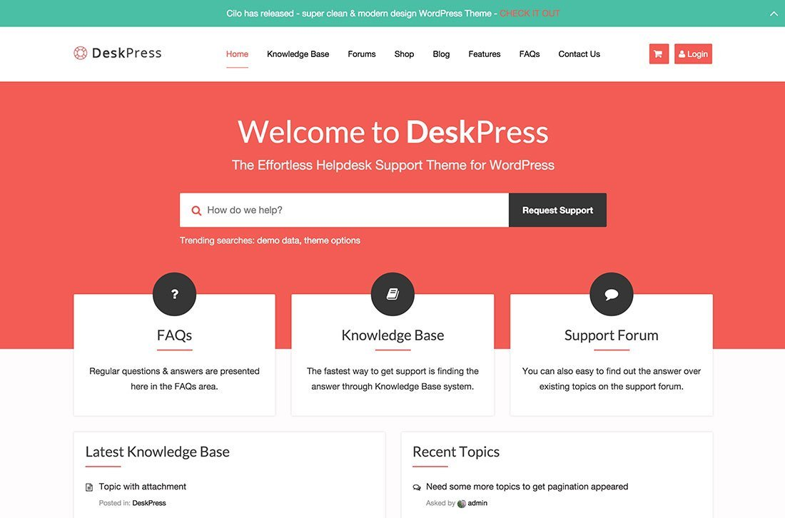 Knowledge Base Website