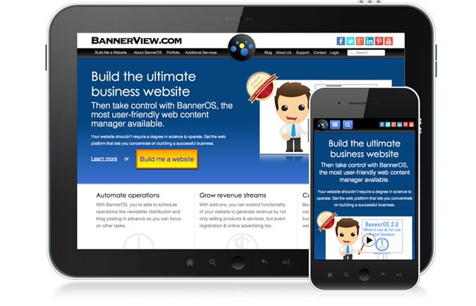 Mobile Device Website