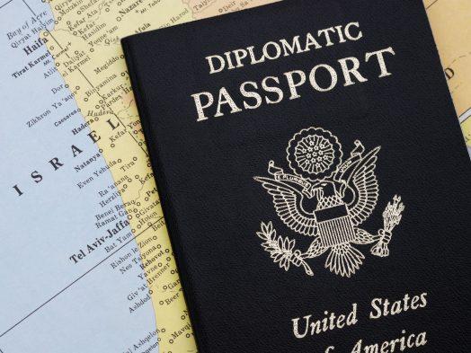 Diplomatic Usa Passport