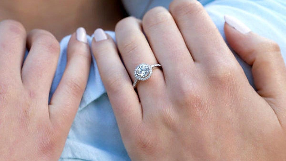 Pave ring
