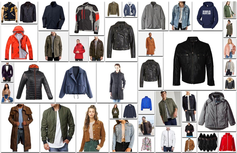 Types of Jacket