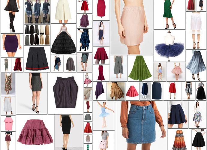 Types of Skirt