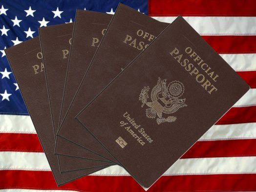 United States Official Passport