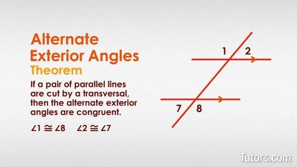 Alternate Exterior Angle