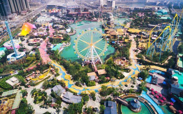 Amusement Theme Park Resort
