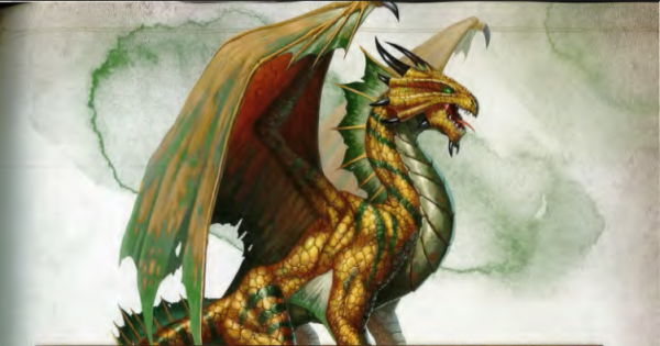 Ancient Bronze Dragon