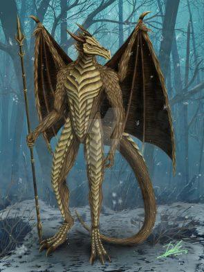 Anthropomorphic Dragon