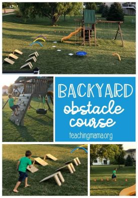 Backyard Obstacle Course Outdoor Game