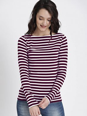 Boatneck and Scoop Styles T Shirt