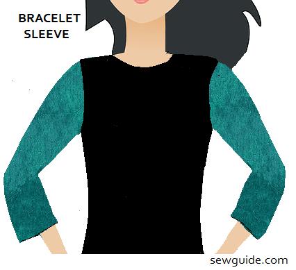 Bracelet Sleeves (Three Fourth Sleeve)