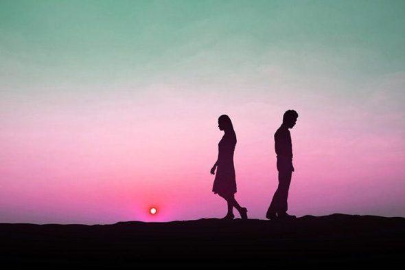 Break Up Couple