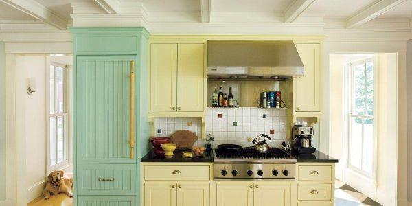 Brightly Hued Cabinet