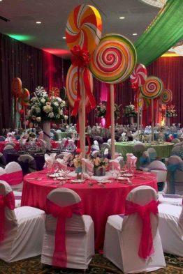 Candyland Christmas Wedding Theme