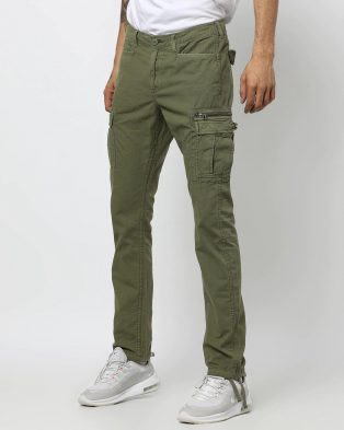 Cargo Fit Jeans