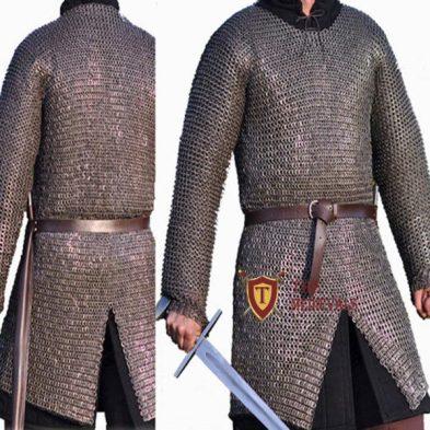 Chainmail Hauberk Armor