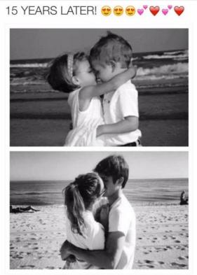 Childhood Sweethearts Couple