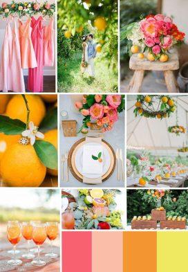 Citrus Wedding Theme