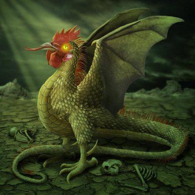 Cockatrice Dragon