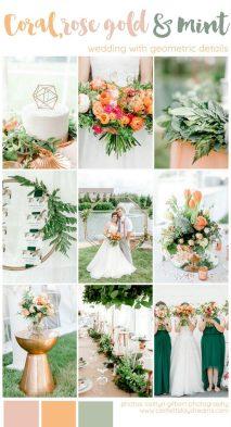 Colorful Geometric Wedding Theme