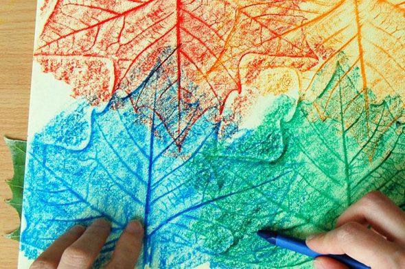 Crayon Rubbing