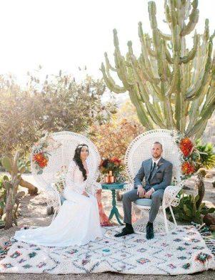 Desert Chic Wedding Theme