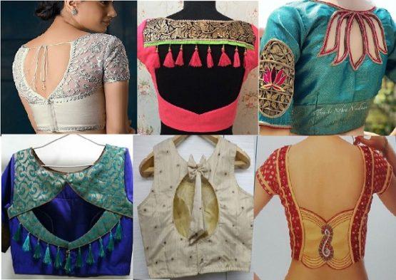 Designer Back Pattern Top