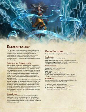 Elementalist Magic