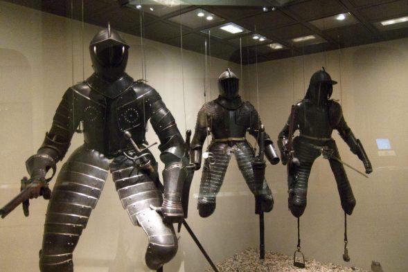 First Metal Body Armor