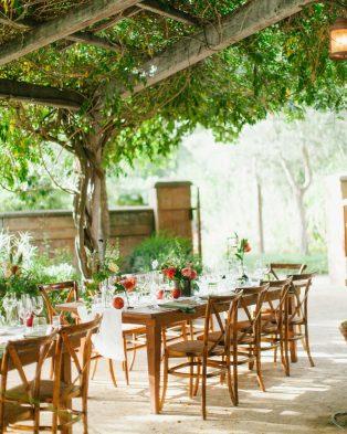Garden Party Casual Wedding Theme