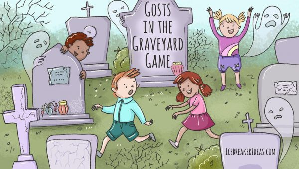 Ghosts In The Graveyard Outdoor Game