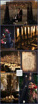 Goth Wedding Theme
