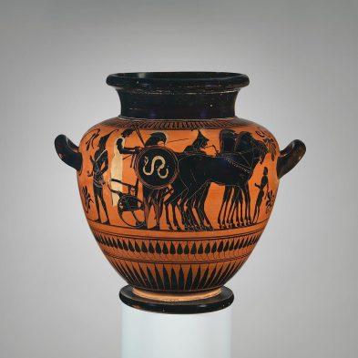 Greek Pottery Art