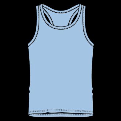 Half T shirt (Singlet)