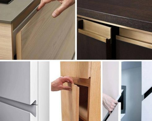 Handle Less Cabinet