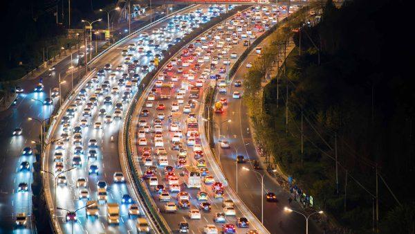 High Traffic Roads