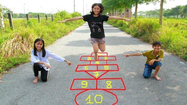 Hopscotch Outdoor Game