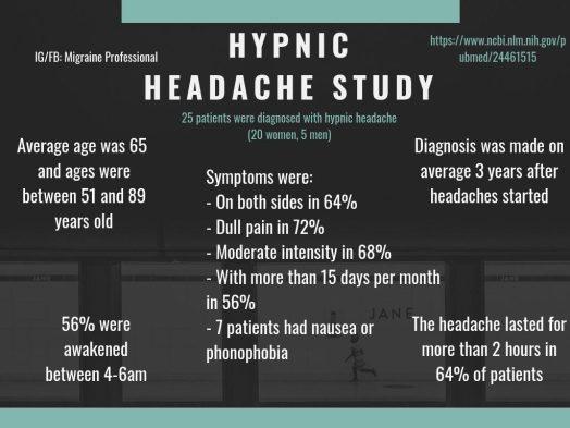 Hypnic Headaches