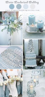 Ice Blue Wedding Theme