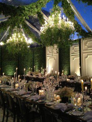 Indoor Garden Wedding Theme