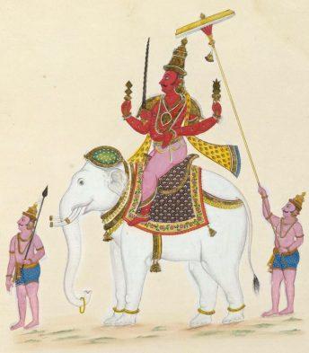 Indra Hindu God