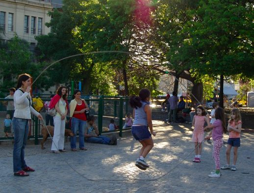 Jump Rope and Double Dutch Outdoor Game