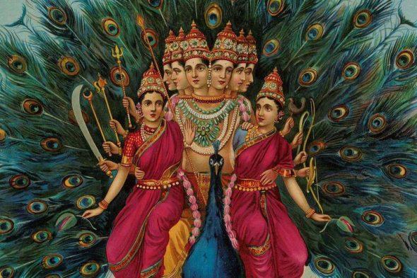 Kartikeya Hindu God