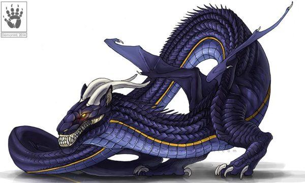 Lindworm Dragon