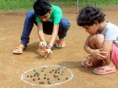 Marbles Outdoor Game