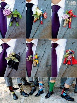 Marvel & DC Wedding Theme