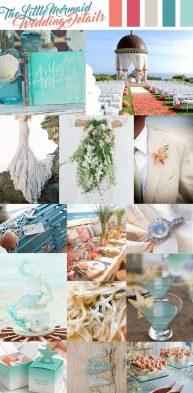 Mermaid Wedding Theme